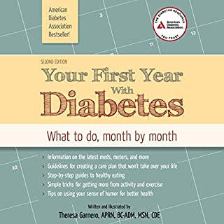 Your First Year with Diabetes audiobook cover art