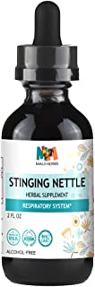 Stinging Nettle Tincture 2 FL OZ Alcohol-Free Liquid Extract, Organic Stinging Nettle Leaf and Root (Urtica Dioica)