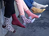 Rainbow Socks - Damen Herren - Sushi Socken Lachs - Lustige Geschenk - 1 Paar - Größen 36-40 - 8