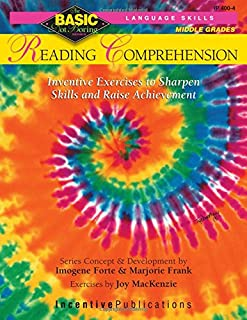 Reading Comprehension BASIC/Not Boring 6-8+: Inventive Exercises to Sharpen Skills and Raise Achievement