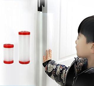 KURICP 指挟み防止 ドア 指はさみ防止 隙間カバー 巻き込み防止 2枚セット 17*120cm+10*120cm ドアストッパー 指詰め防止 指はさみ ブロック 指はさみ防止カバー