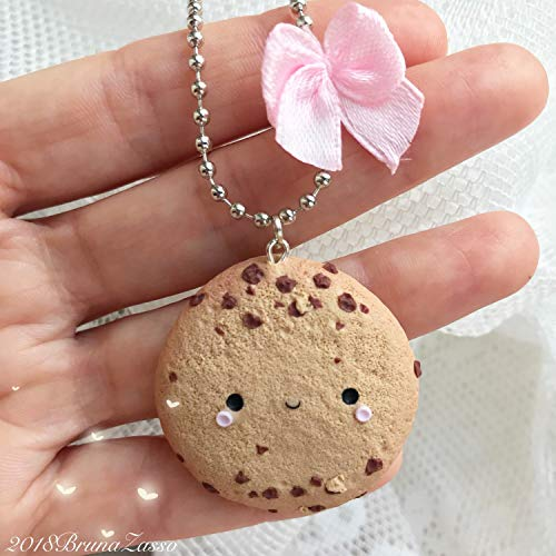 Biscotto Collana cookie cookies Cute Necklace Fimo Polymer Clay Kawaii Handmade sweet patisserie
