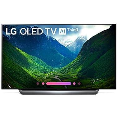LG OLED65C8PUA 65-Inch 4K Ultra HD Smart OLED TV (2018 Model)