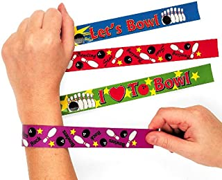 Fun Express 12 Bowling Slap Bracelets