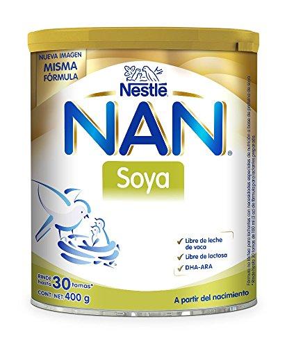 NAN Fórmula Infantil a Partir del Nacimiento con Soya, Lata 900 gr