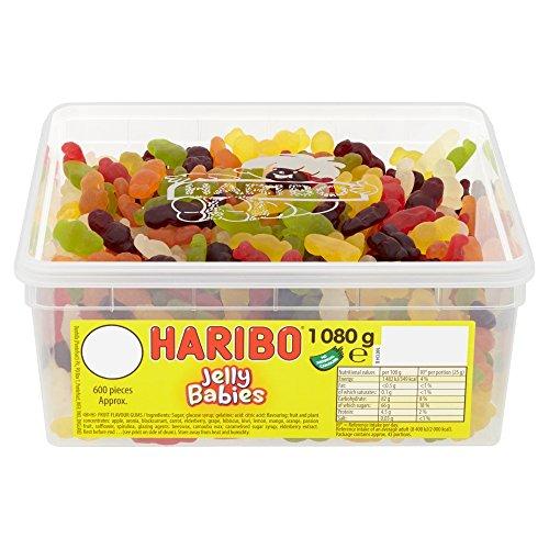 Haribo Jelly Babies - 1080g - ungefaehr 120 Stk
