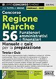 Concorso Regione Marche 56 Funzionari amministrativi e finanziari