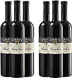 Pinot Nero vin rouge Italien IGT 7* Stelle Raisins récoltés à la main en culture biologique Domaine Viticole Torti Primé