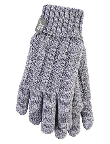 HEAT HOLDERS Ladies Cable Knit 2.3 tog Heatweaver...
