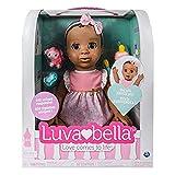 Luvabella 6044113Cheveux Ensemble d'accessoires de poupée, Marron foncé