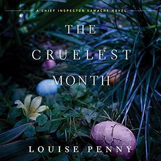 The Cruelest Month audiobook cover art