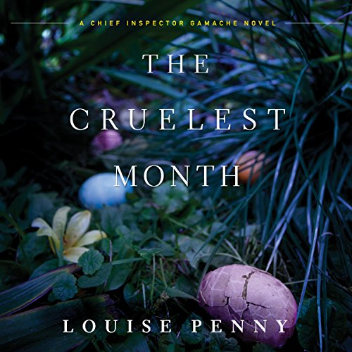 The Cruelest Month audiobook cover art
