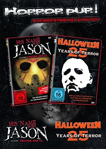 Michael Myers & Jason HALLOWEEN + FREITAG DER 13. -25 Years Of Terror 2 DVD Edition - DIE DOKUMENTATIONEN DES SCHRECKENS