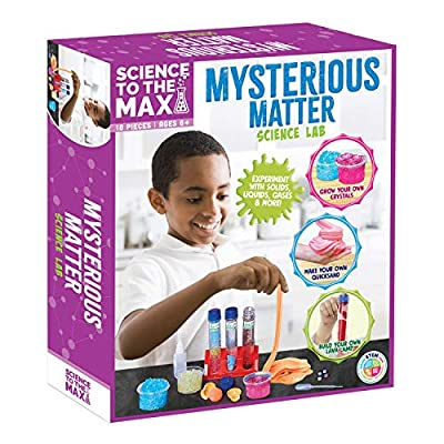 Be Amazing! Toys Science Kit - Science to The Max Mysterious Matter Science Kits for Kids Age 8 and Up - Stem Chemistry Set for Boys and Girls - Mind Blowing Educational Toy for Kids Age 8-12, 10-12 from Be Amazing! Toys