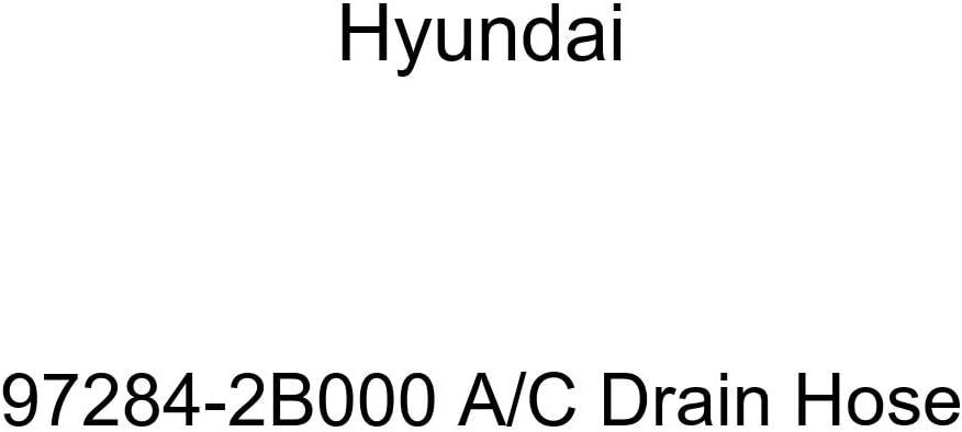 Genuine Under blast sales Hyundai 97284-2B000 A Drain Max 90% OFF C Hose