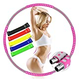 BAIYING Hula Hoop Reifen Erwachsene, Fitness Hoola Hoop für Gewichtsabnahme und Massage,...