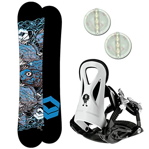 Ftwo TNT Kinder Snowboard Set 2020~130 cm JUNIOR BINDUNG GR. M + PAD