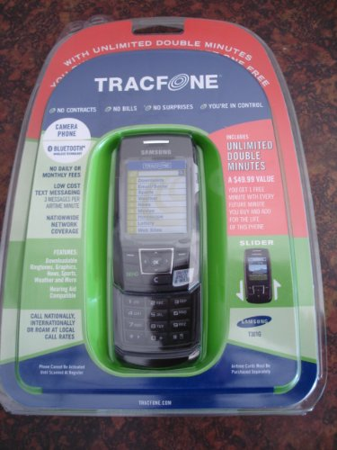 Samsung T301G Prepaid Phone with Double Minutes (Tracfone)