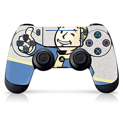 "Controller Gear Officially Licensed Fallout ""Vault Boy"" PS4 Controller Skin - PlayStation 4"