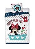 Disney 053 Parure de lit pour Enfant Motif Minnie Mouse 100 x 135 x 60 cm