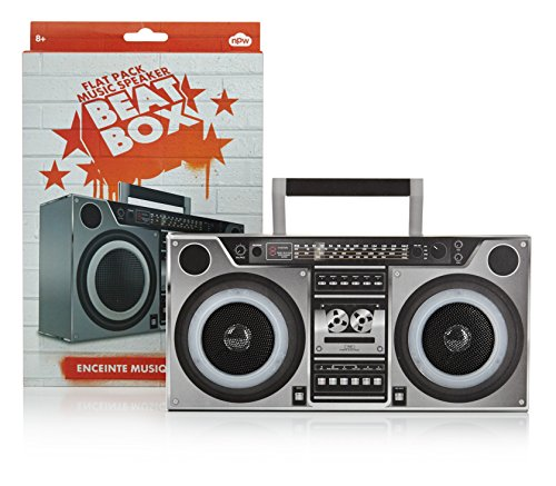 NPW Gifts Beat Box voor MP3-speler, 3D, stereo-luidsprekers