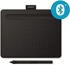 Wacom Intuos S Tableta Gráfica Bluetooth para pintar, dibujar, editar fotos con 2 softwares creativos incluidos para descargar, Windows & Mac, óptima para la educación en línea y el teletrabajo, negra