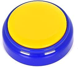 Neutral Sound Button,30 Seconds Recording Button,Sound Buzzer, Sound Buzzer (Blue+Yellow)