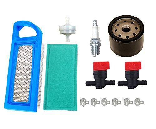 oxoxo 698083Filtro de aire con filtro de aceite de 795890394358Filtro de combustible para Briggs and Stratton válvula de 49476817–17.5hp Tractor motores