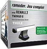 Rameder Pack Barres de Toit ProBar pour Renault TWINGO II (115831-05611-1-FR)
