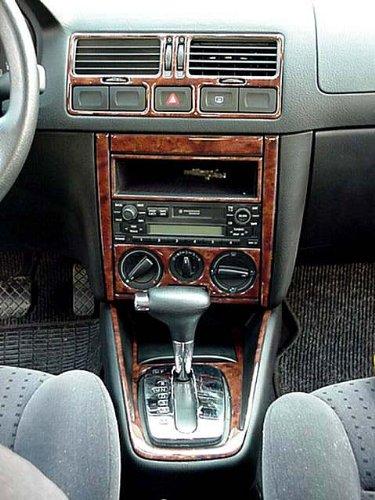 Volkswagen Dash Golf MK IV MkIV Interior de Madera del Burl Juego de Acabados Set 2000 2001 2002 2003 2004 2005
