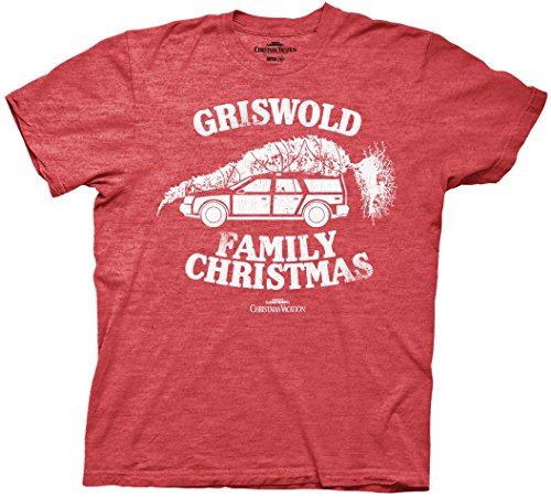 National Lampoon Griswold Family Christmas Vacation Mens T-shirt (Large)