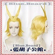 Anime My Hero Academia Boku no Hiro Akademia All Might Parrucca costume cosplay resistente al calore biondo dorato cappuccio parrucca gratuito
