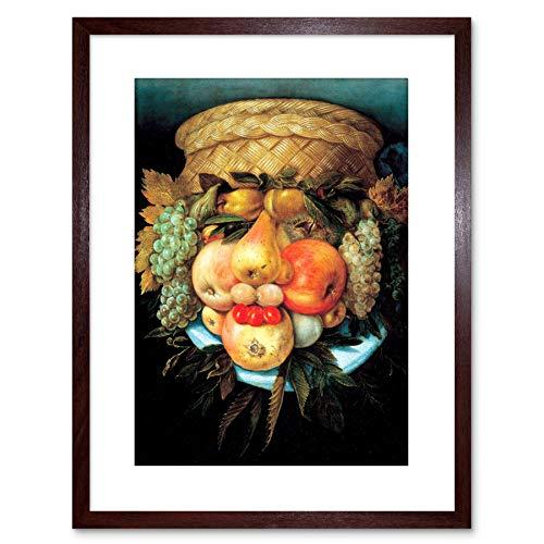 Wee Blue Coo Painting Fruit Vegetable Wheat Giuseppe ARCIMBOLDO Framed Art F97X12053