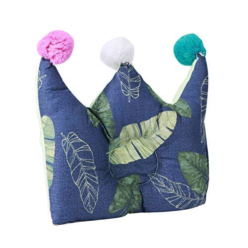 Almohada moldeadora de cabeza de bebé de cuatro estaciones para bebé(Green leaf)