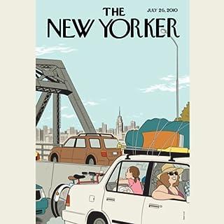 The New Yorker, July 26th 2010 (Jonathan Franzen, Anthony Gottlieb, William Finnegan) Titelbild