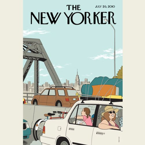 The New Yorker, July 26th 2010 (Jonathan Franzen, Anthony Gottlieb, William Finnegan) cover art