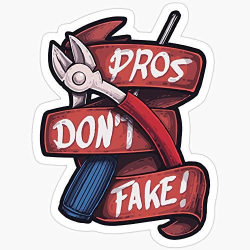 Deangelo CSGO Pros Don't Fake Aufkleber, 3 Stück