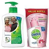 Dettol Liquid Handwash (Original) - 200 ml with Free Dettol Liquid...