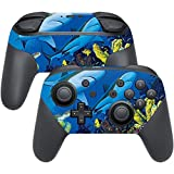 MightySkins Skin Compatible with Nintendo Switch Pro Controller - Shark Buddies | Protective, Durable, and Unique Vinyl Decal wrap Cover | Easy to Apply, Remove, and Change Styles | Made in The USA