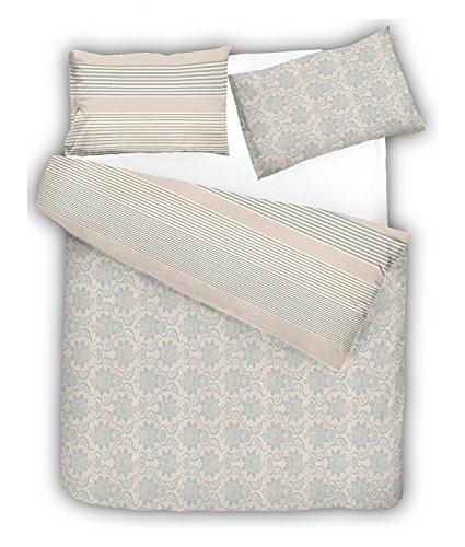 Dreamz Choice 100% Cotton Printed Reversible Duvet Cover Set, Istambul - Double
