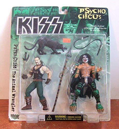 Kiss BAISER Psycho Cirque Peter Criss chiffre
