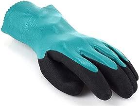 Size : L SYXYSM Guantes De Goma//Guantes Industriales De Protecci/ón Laboral//Disolventes Resistentes A Los /Ácidos Y /Álcalis//Guantes Resistentes Al Aceite//Azul L Guantes de Goma
