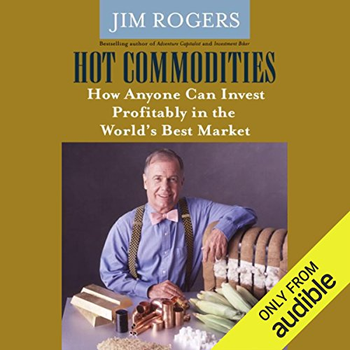 Hot Commodities audiobook cover art