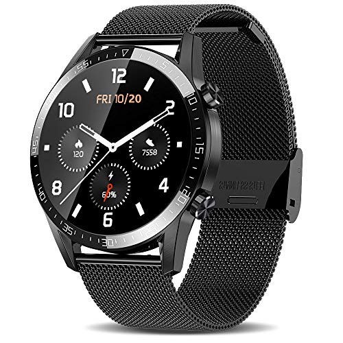 ATGTGA Smart Watches for Android iOS Phones (Make/Receive Calls,1.3Inch,Double Mode)...