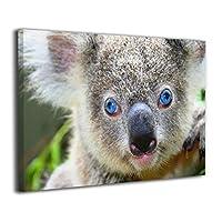 Skydoor J パネル ポスターフレーム 動物 コアラ インテリア アートフレーム 額 モダン 壁掛けポスタ アート 壁アート 壁掛け絵画 装飾画 かべ飾り 30×20