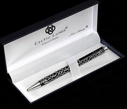 Sea Gems Pen in a Celtic Birds Design