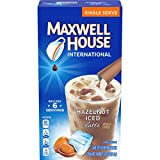 iced coffee cooler - Maxwell House International Cafe Iced Hazelnut Latte Instant Coffee (3.42 oz Boxes, Pack of 8)