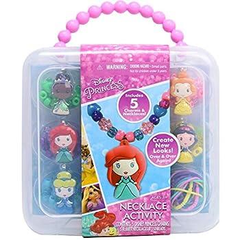Tara Toys Disney Princess Necklace Activity Set 9.7x8.18x2