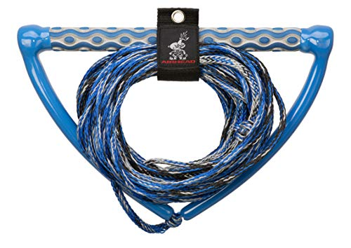 AIRHEAD Wakeboard Rope, 15' EVA Handle, 3 section