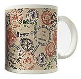Dresden Onlineshop Motiv-Tasse Berlin Mauerfall Checkpoint Charlie DDR Ostalgie Gedenktasse Kaffeetasse Krug mit Henkel Keramik Tasse mit 250ml Füllmenge...